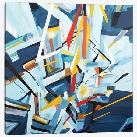 Buildings Canvas Print #PIE79} by Piero Manrique Canvas Print
