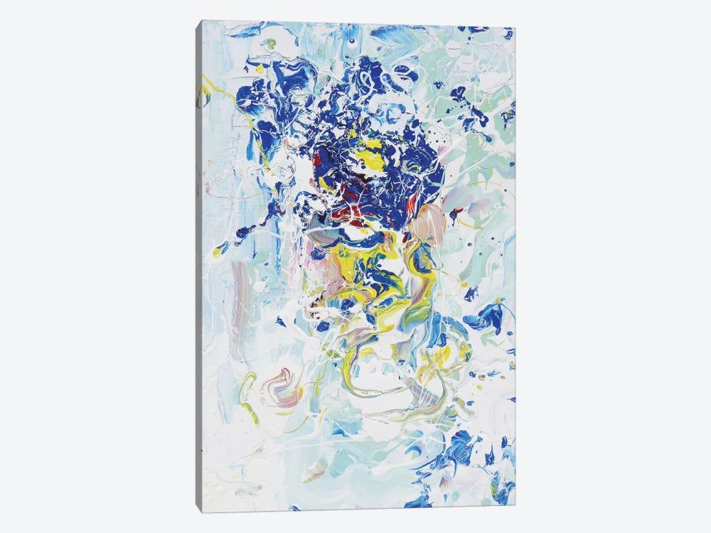 Blue Energy by Piero Manrique 1-piece Canvas Print