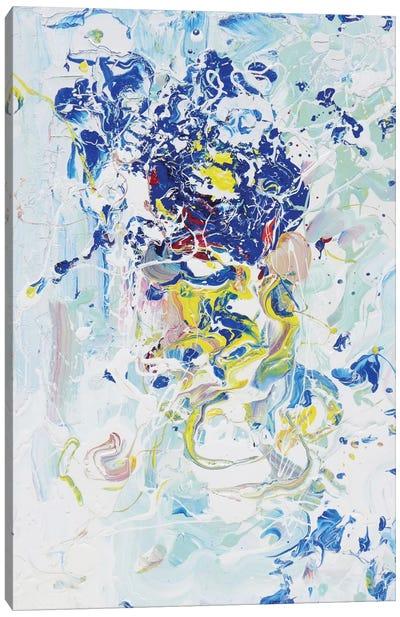 Blue Energy Canvas Print #PIE7