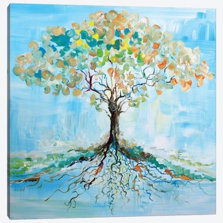 Candy Tree Canvas Print #PIE80} by Piero Manrique Canvas Artwork