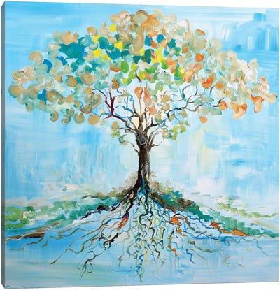 Candy Tree Canvas Art Print