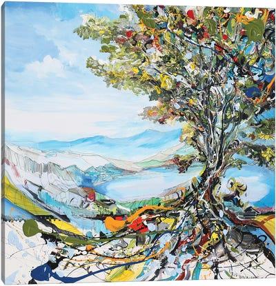 Festivity Tree Canvas Art Print