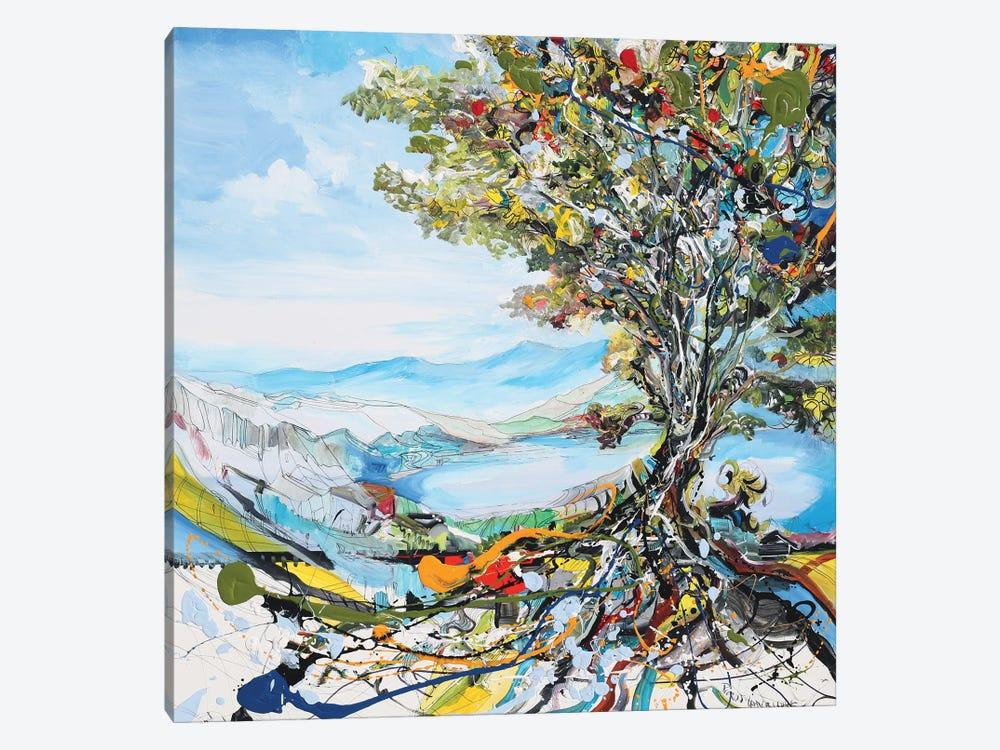 Festivity Tree by Piero Manrique 1-piece Canvas Wall Art