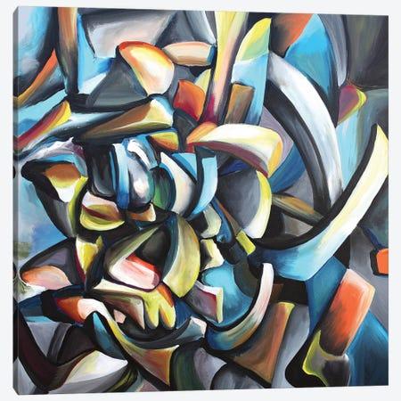 Guitarrista Canvas Print #PIE84} by Piero Manrique Canvas Print