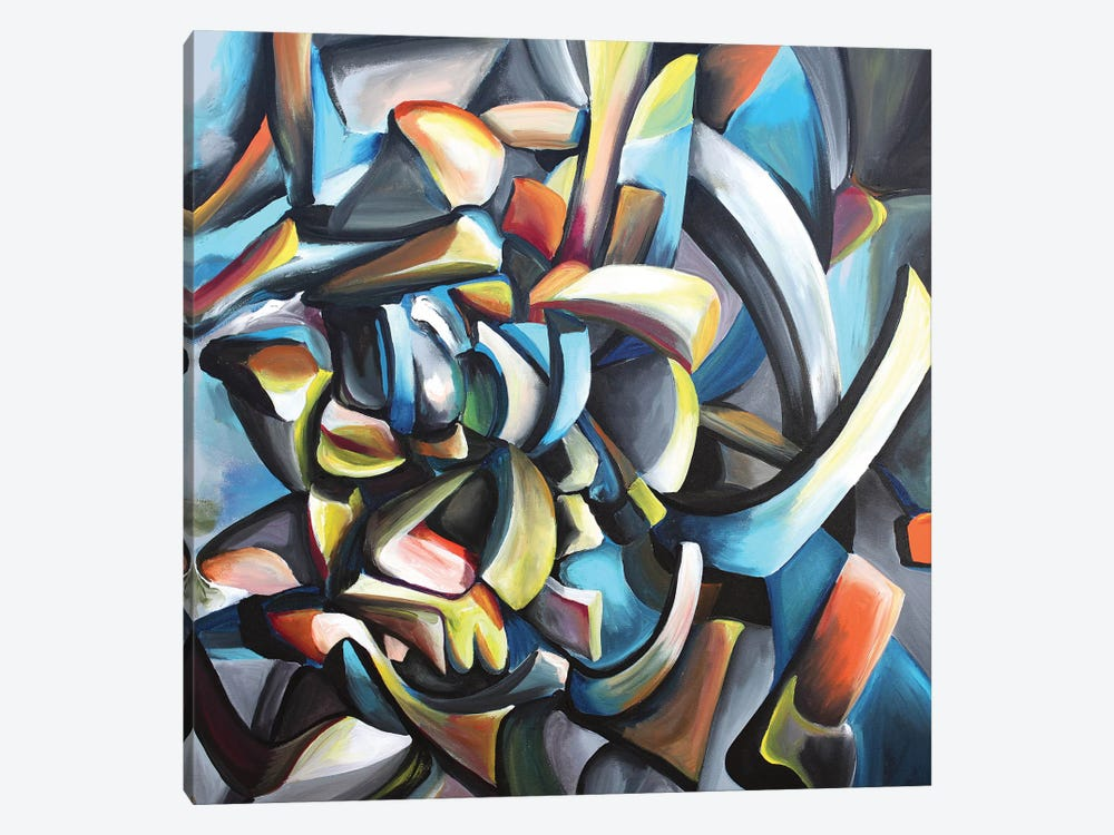Guitarrista by Piero Manrique 1-piece Canvas Art Print