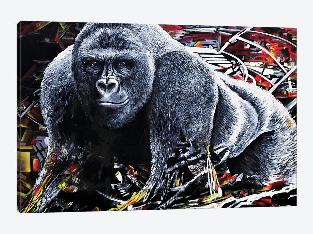 Harambe by Piero Manrique 1-piece Art Print