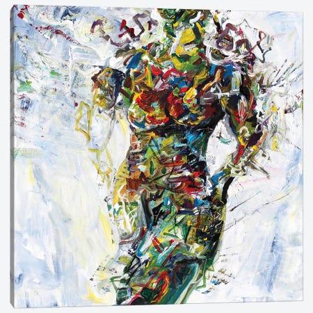 Modelo Canvas Print #PIE87} by Piero Manrique Art Print
