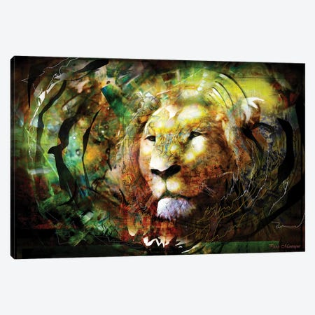 Power Canvas Print #PIE88} by Piero Manrique Canvas Wall Art