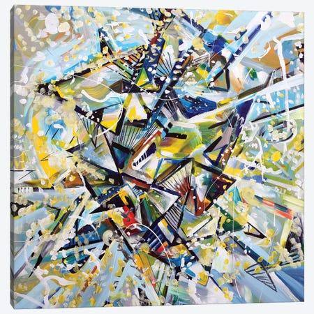 Star Canvas Print #PIE91} by Piero Manrique Art Print