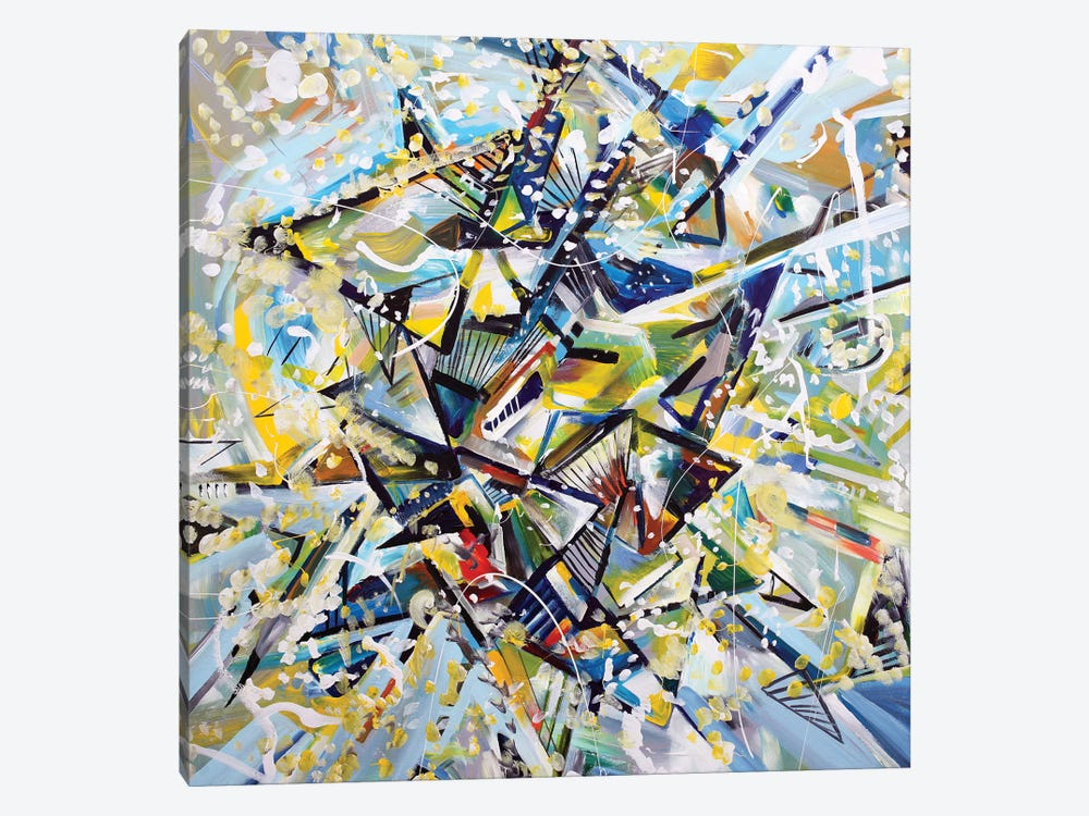 Star by Piero Manrique 1-piece Canvas Print