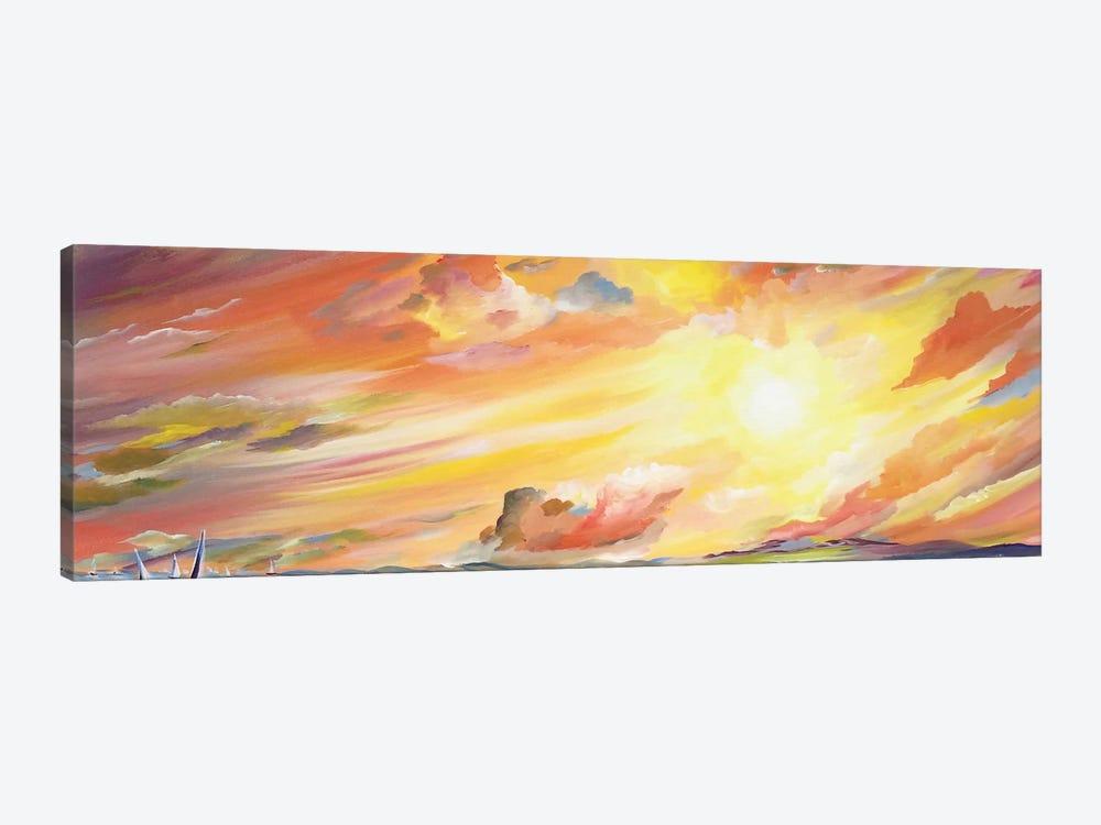 Brilliant Sunset by Piero Manrique 1-piece Art Print