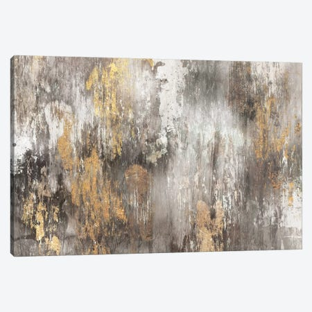 Gold Ikat Canvas Print #PIG101} by PI Galerie Art Print