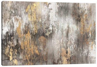 Gold Ikat Canvas Art Print
