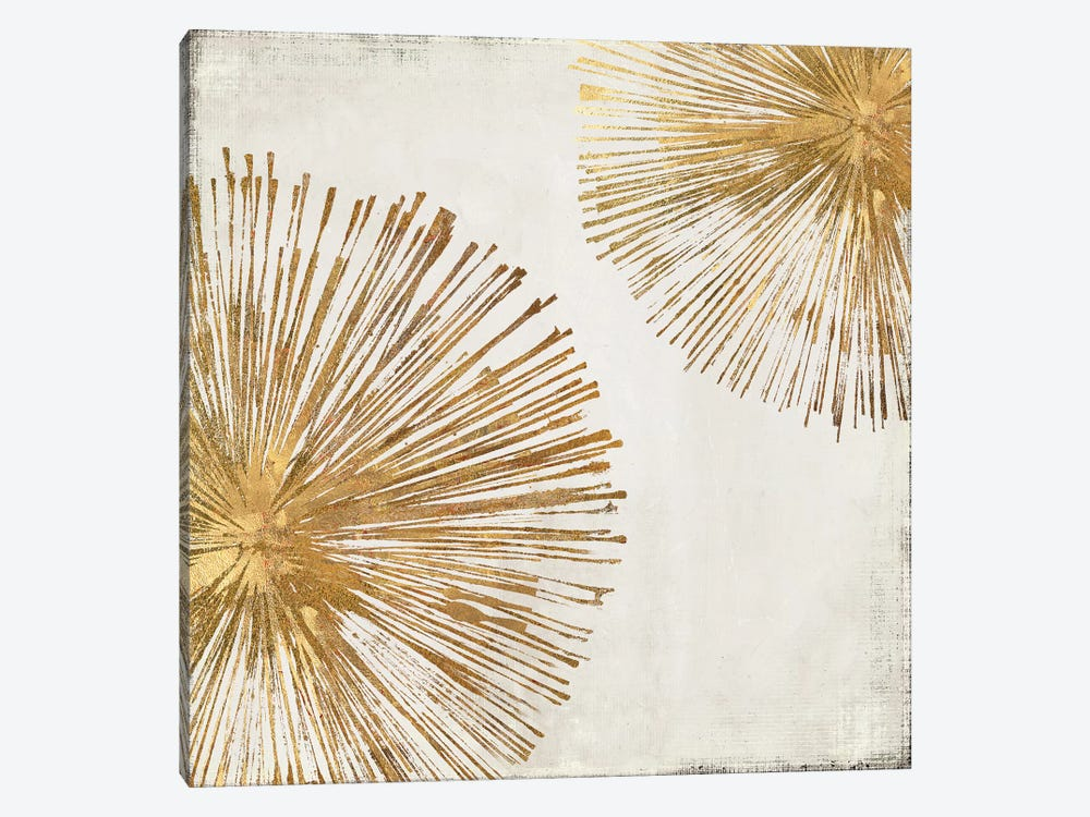 Gold Star I by PI Galerie 1-piece Canvas Wall Art