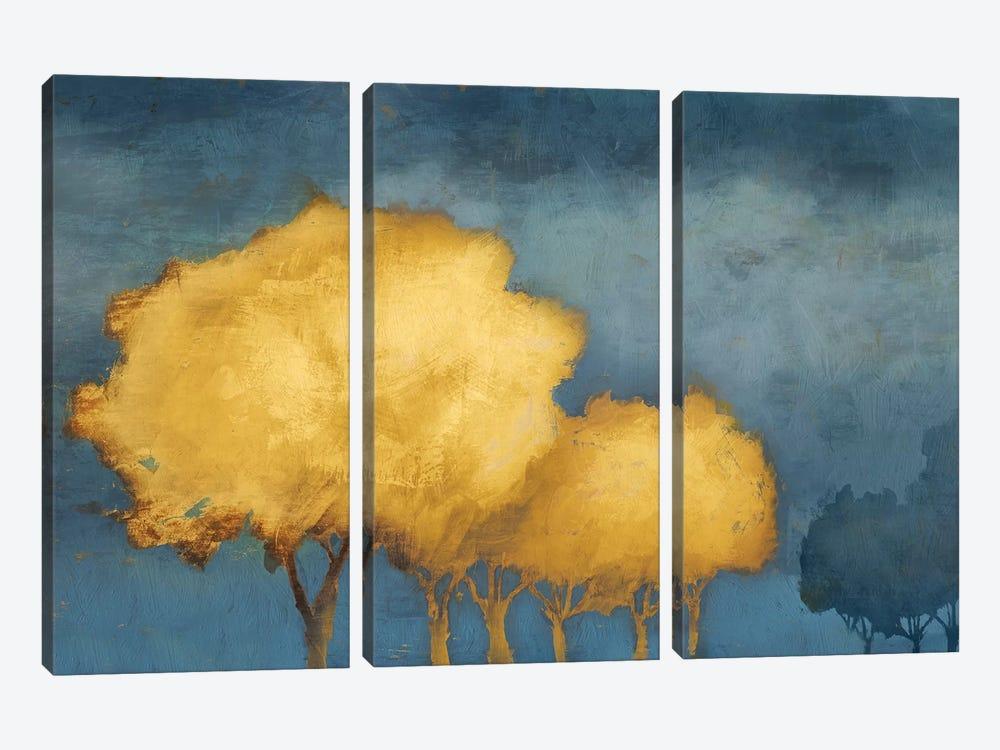 Golden Trust by PI Galerie 3-piece Canvas Art