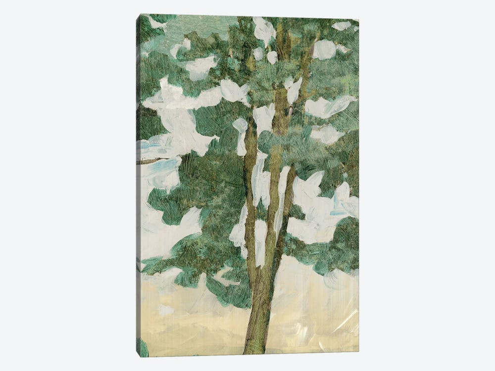 Green Tree Line II by PI Galerie 1-piece Canvas Art