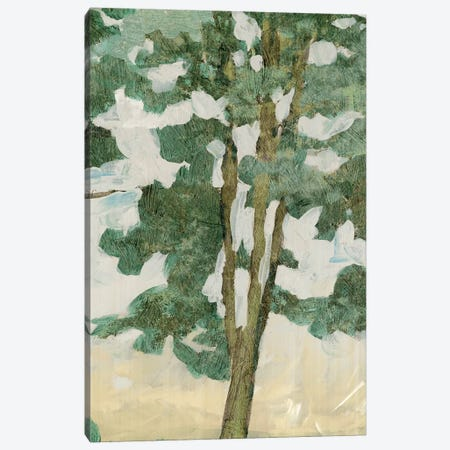 Green Tree Line II Canvas Print #PIG108} by PI Galerie Canvas Print
