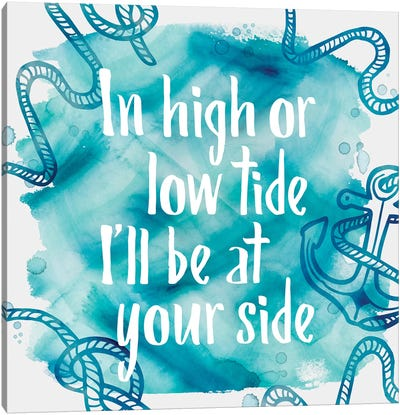 In High Tide Canvas Art Print