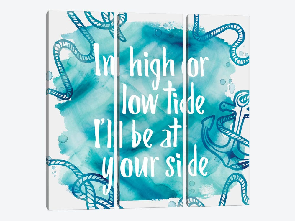 In High Tide by PI Galerie 3-piece Canvas Wall Art