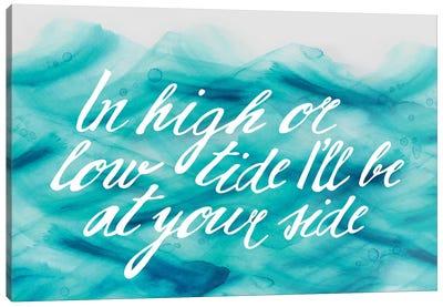 In Low Tide Canvas Art Print