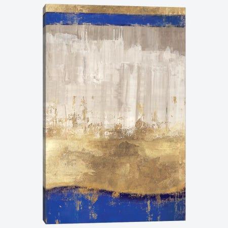 Indigo Abstract I Canvas Print #PIG119} by PI Galerie Canvas Artwork