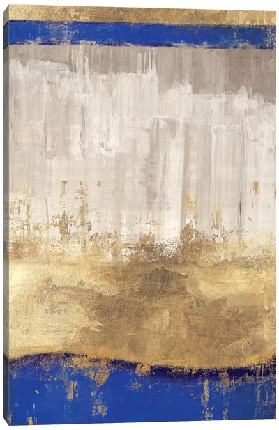 Indigo Abstract I Canvas Art Print