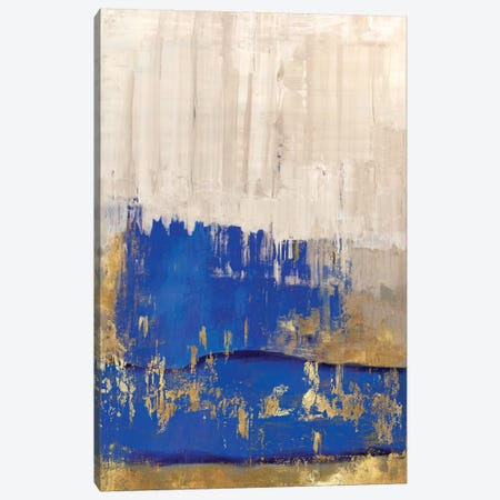 Indigo Abstract II Canvas Print #PIG120} by PI Galerie Canvas Art Print