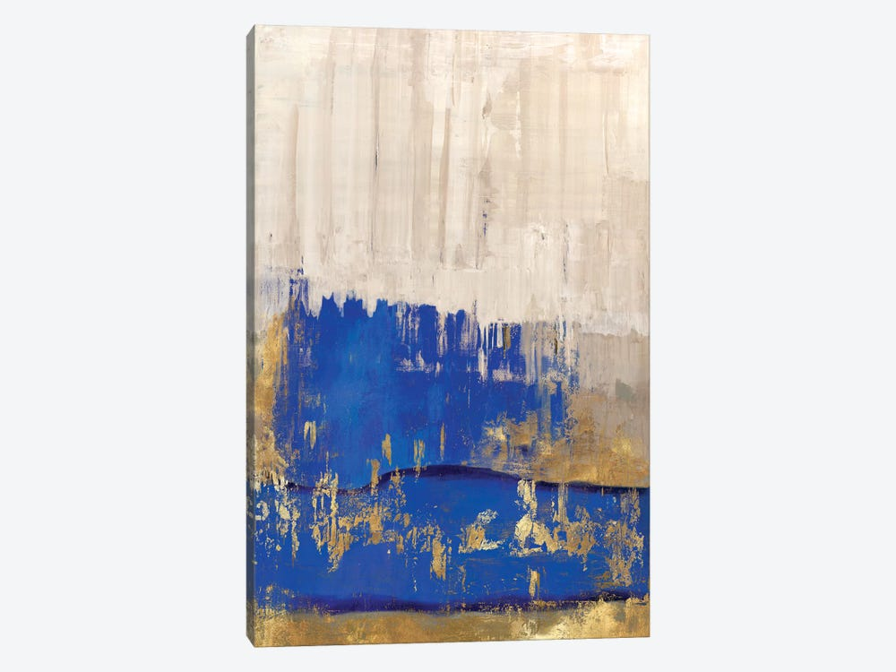 Indigo Abstract II by PI Galerie 1-piece Canvas Wall Art