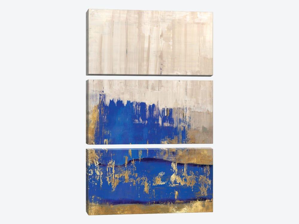Indigo Abstract II by PI Galerie 3-piece Canvas Artwork