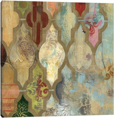 Infinite Currents II Canvas Art Print