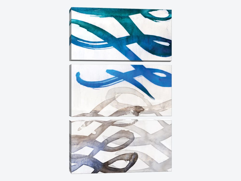 Infinity II by PI Galerie 3-piece Canvas Art Print