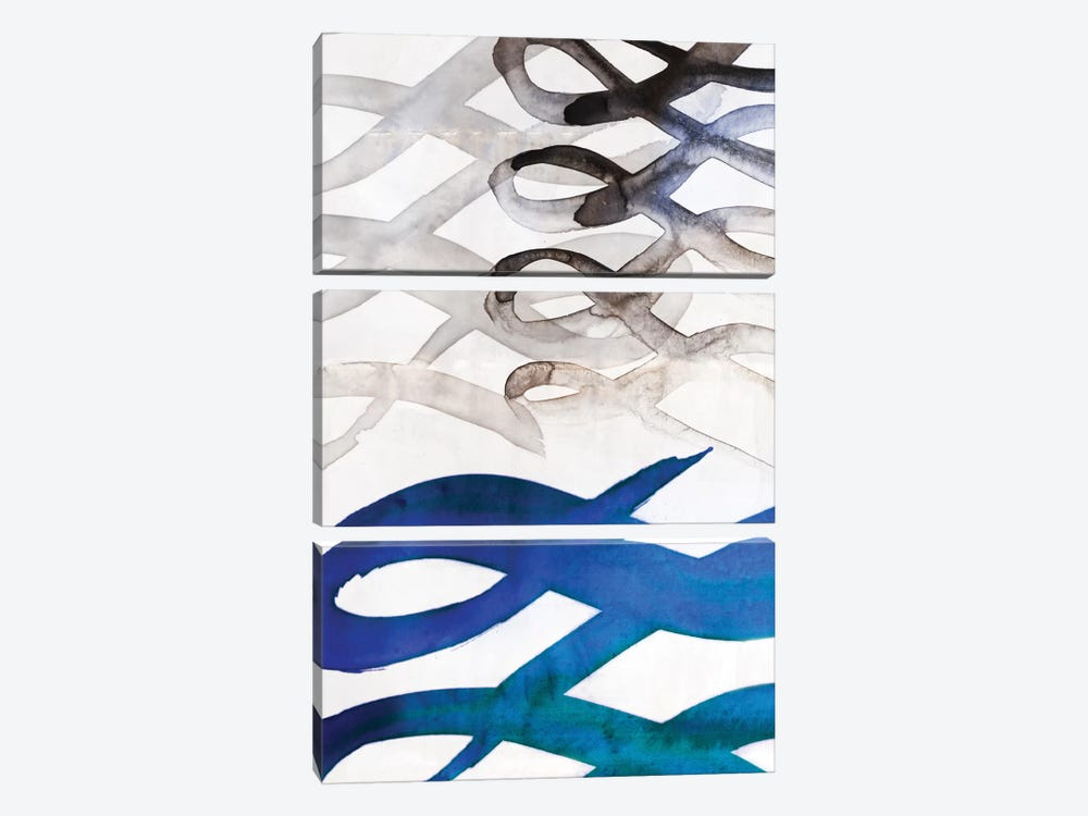 Infinity III by PI Galerie 3-piece Canvas Art Print