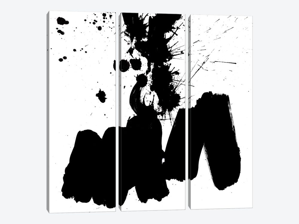 Ink Blot II by PI Galerie 3-piece Canvas Art Print