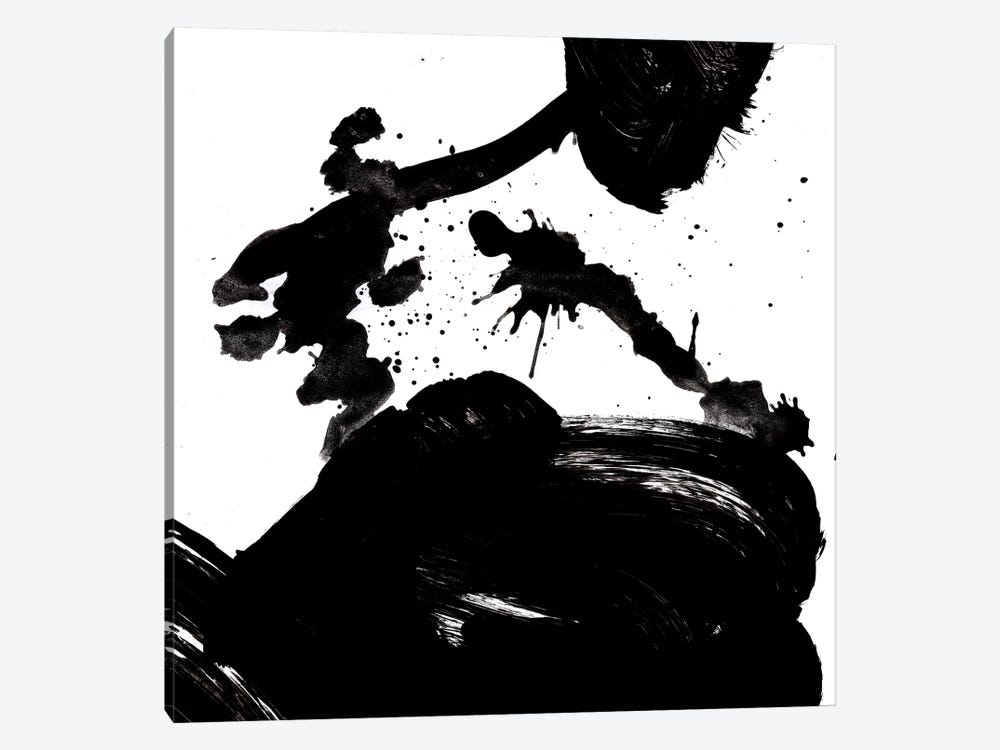 Ink Blot III 1-piece Canvas Art