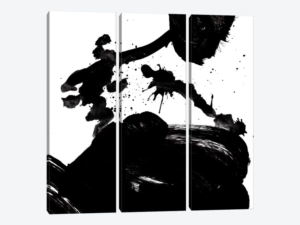 Ink Blot III 3-piece Canvas Art