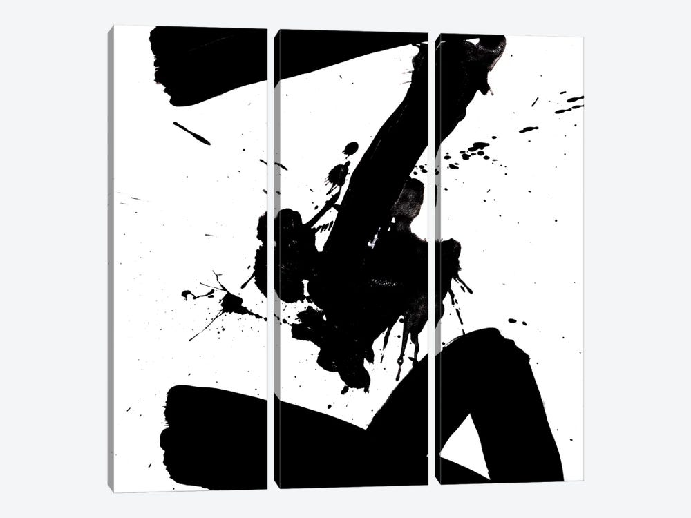 Ink Blot IV by PI Galerie 3-piece Canvas Art Print