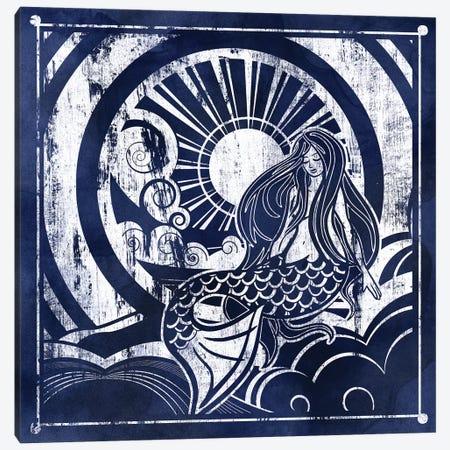 Ink Dip Mermaid Canvas Print #PIG136} by PI Galerie Canvas Print