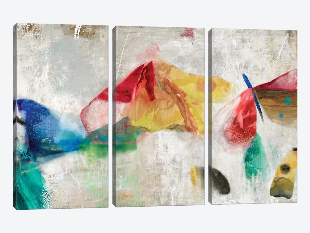 Kisses Entwined by PI Galerie 3-piece Canvas Artwork