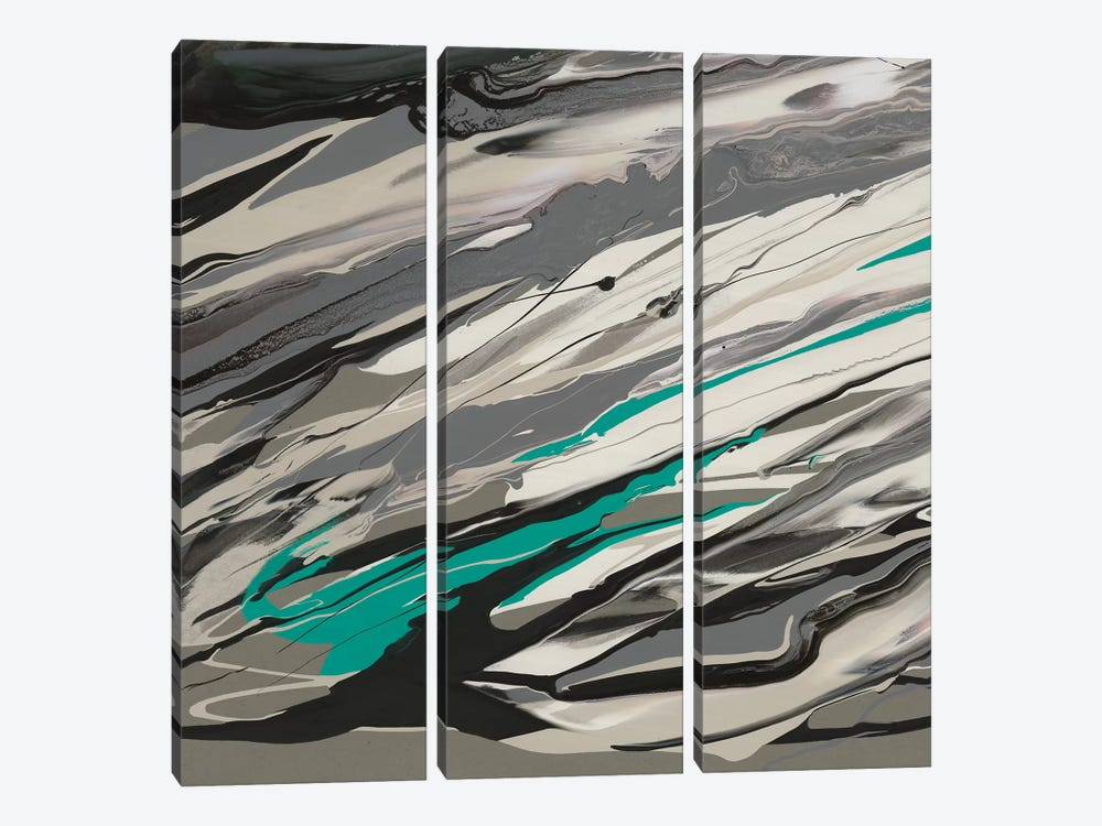 Marble Dust I by PI Galerie 3-piece Canvas Art Print