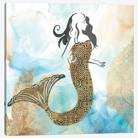Mermaid I Canvas Print #PIG165} by PI Galerie Canvas Wall Art