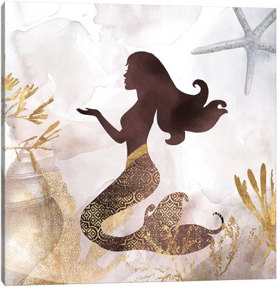 Mermaid II Canvas Art Print