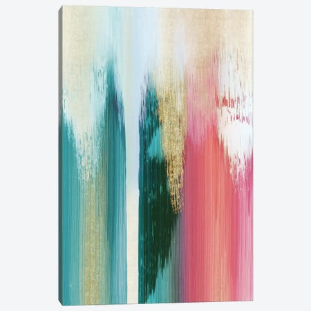Multicolor Streak Canvas Print #PIG174} by PI Galerie Canvas Print