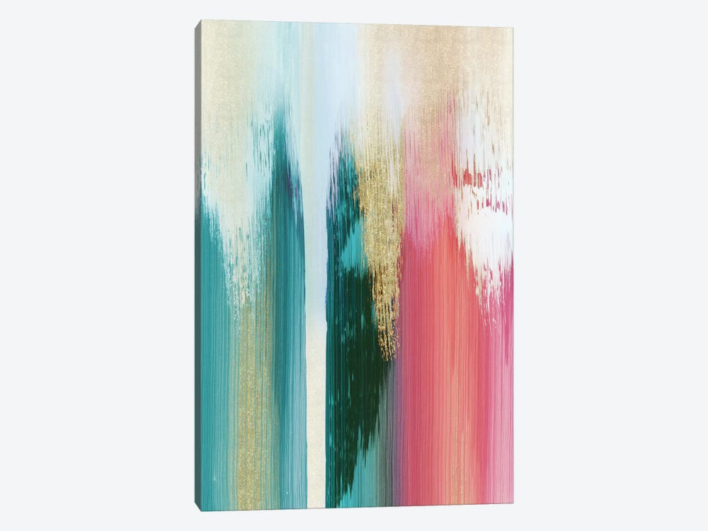Multicolor Streak 1-piece Art Print