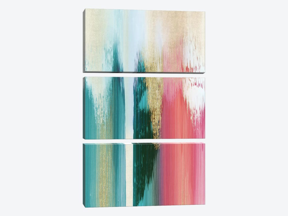 Multicolor Streak 3-piece Art Print