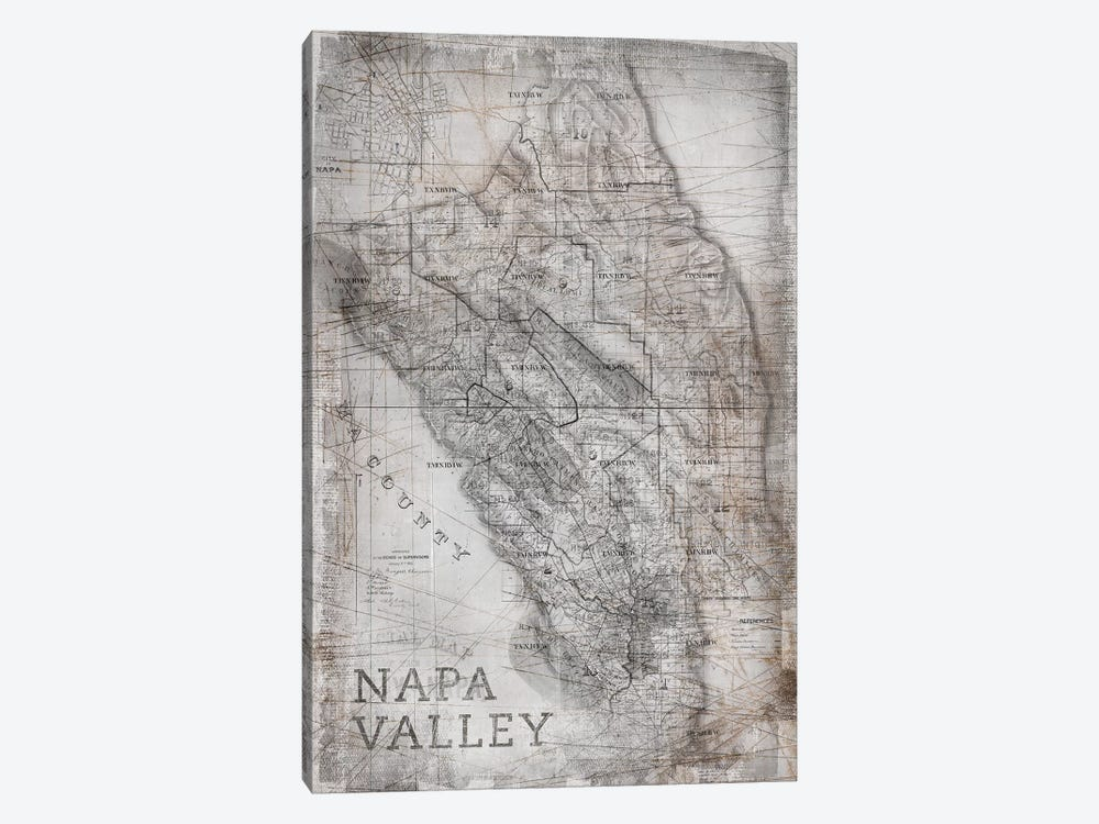 Napa Valley by PI Galerie 1-piece Canvas Art