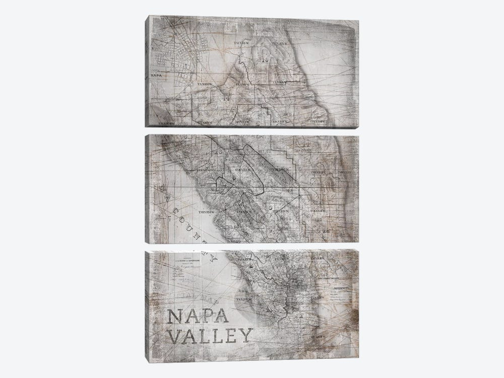 Napa Valley by PI Galerie 3-piece Canvas Artwork
