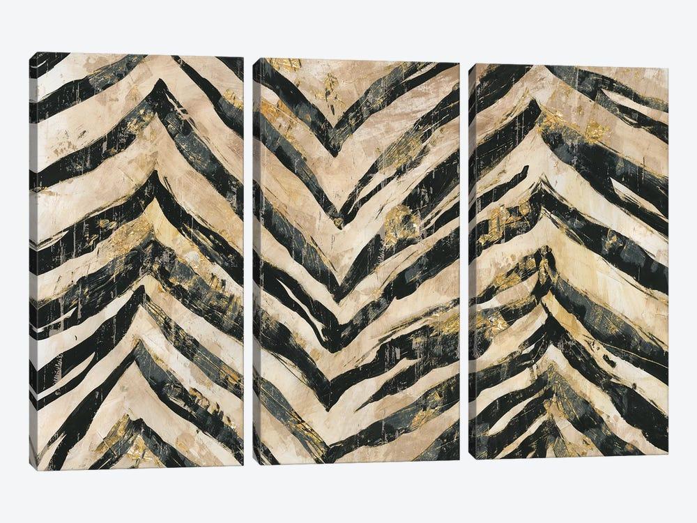 New Zebra II by PI Galerie 3-piece Canvas Print
