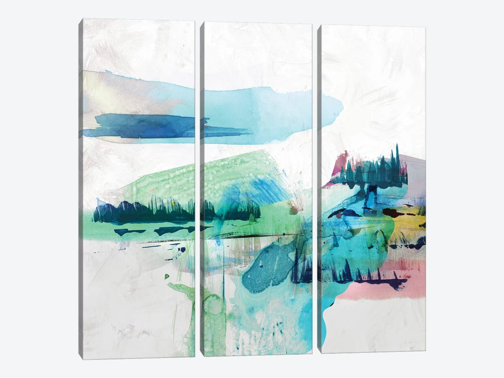 Palette Landscape II by PI Galerie 3-piece Canvas Wall Art