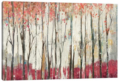 Pink Forest Canvas Art Print