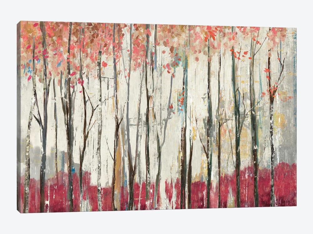 Pink Forest 1-piece Art Print